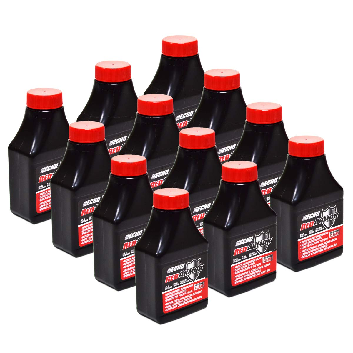 (12) Genuine OEM Echo Red Armor 1 Gallon Mix of 2-Cycle Oil 2.6oz 2.6 oz 6550000 by Replaces Echo
