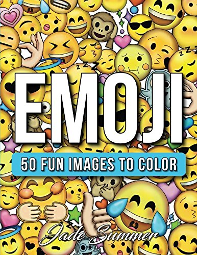 (Emoji: An Emoji Coloring Book for Kids with 50+ Funny, Cute, and Easy Coloring)