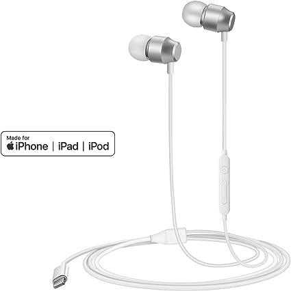 PALOVUE Earflow Lightning Cuffie Auricolari magnetici In Ear MFi certificato con controller microfono Compatibile iPhone 11 Pro Max iPhone XXS MaxXR