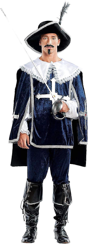 Carnevale Venizano CAV4459-S - Erwachsenenkostüm Größe: D'ARTAGNAN - Größe: Erwachsenenkostüm S 885e56