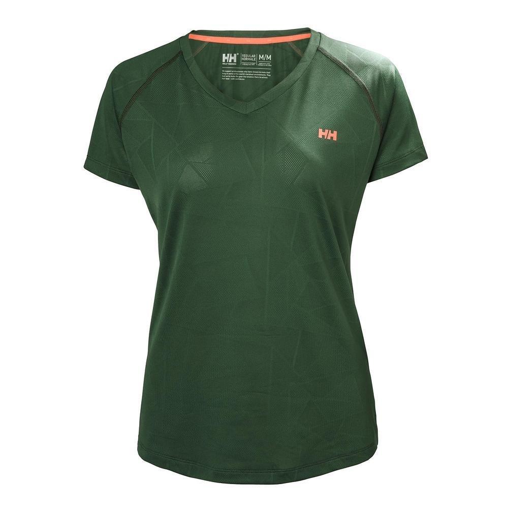 Helly Hansen Selsli Short Sleeve Tee Shirt - 62693 (JUNGLE GREEN - L)