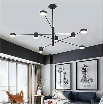 Nordic Led Lamp Black Design Modern Chandelier Lighting