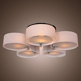 LightInTheBox Modern Acrylic Chandelier with 5 lights Flush Mount ...
