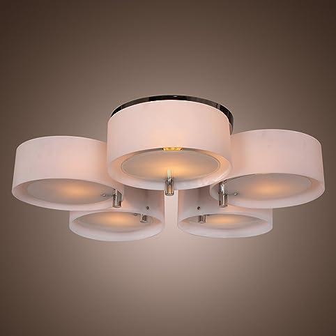 LightInTheBox Modern Acrylic Chandelier with 5 lights Flush Mount ...