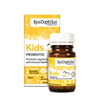 Kyo-Dophilius Kids Probiotic, Promotes Regularity and Immune Health*, 60 tablets...