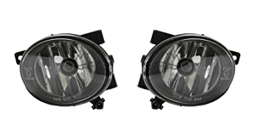 Klarglas Nebelscheinwerfer HB4 schwarz smoke Paar für VW Polo 6R Tiguan Touran
