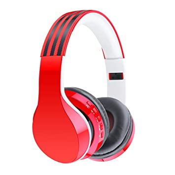 LQQAZY Auriculares Inalámbricos Soporte para Dispositivos Bluetooth Micrófono Incorporado Orejeras De Cuero Suave MP3 / Teléfono