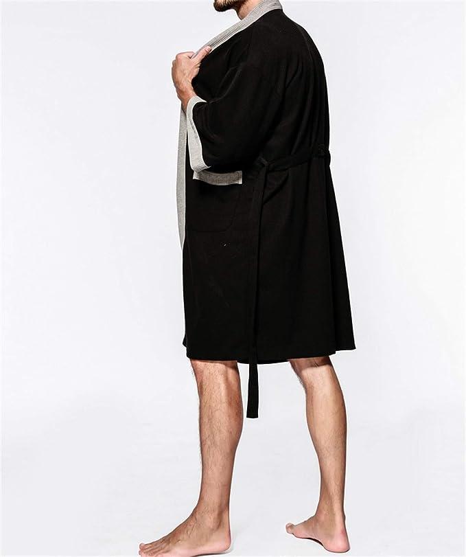 5XL I Bath-Robe /Öko-Tex Standard 100 Albornoz unisex Prato con capucha I abrigo mullido I ropa de noche de fibra de roble noble I kimono con selecci/ón de colores y tama/ños XXS Di Vadini