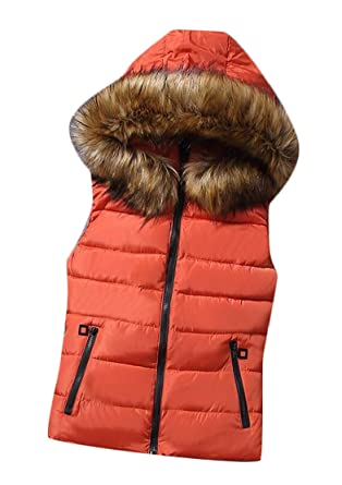 88299014d76f Clothing, Shoes & Jewelry Keaac Mens Hooded Sleeveless Quilted Jacket Down  Vest Jackets & Coats
