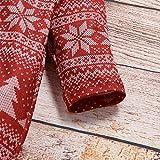Gallity Christmas Baby Boy Girl Zip Footed Pajamas