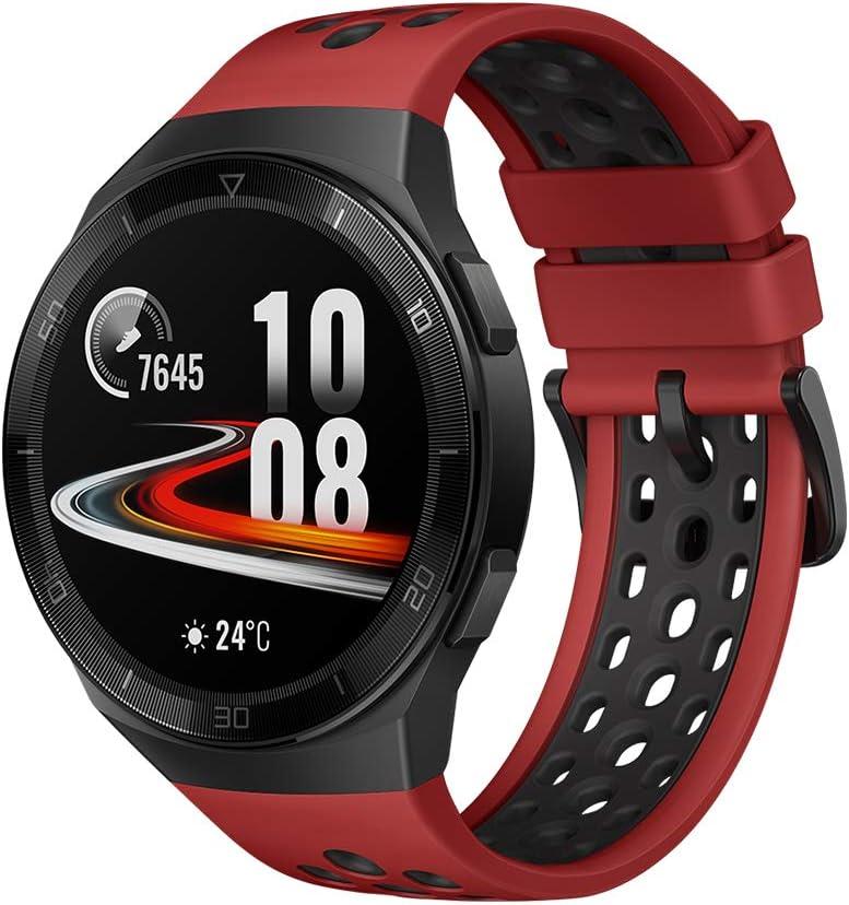 HUAWEI Watch GT 2e Sport - Smartwatch de AMOLED pantalla de 1.39 pulgadas, 2 semanas de batería, GPS, Color Rojo