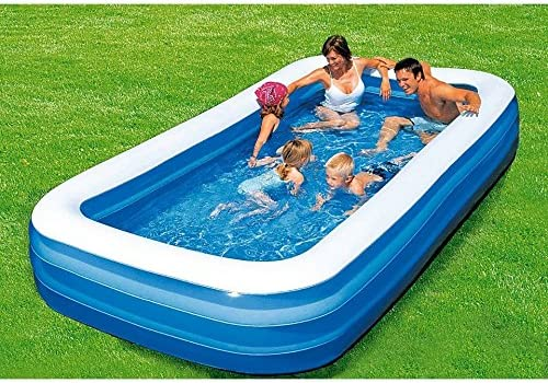 MWS2815 54009 Piscina rectangular inflable Bestway familia 3 ...