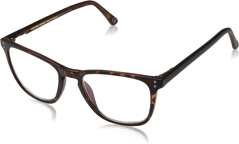 Foster Grant Camden Multifocus Rectangular Reading Glasses