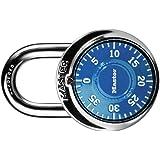 Master Lock 1506D Locker Lock Combination Padlock, 1 Pack, Blue (New)