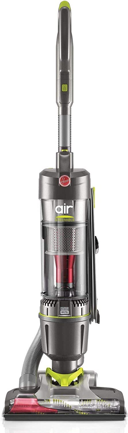 Hoover WindTunnel Air Steerable Pet Bagless Corded Upright Vacuum, UH72405 (Renewed)