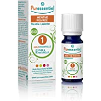 Puressentiel - Huile Essentielle Menthe Poivrée - Bio - 100% pure et naturelle - HEBBD - 10 ml