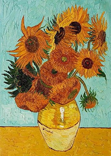Wieco Art Sunflower by Vincent Van Gogh Oil Paintings for sale  Delivered anywhere in Canada