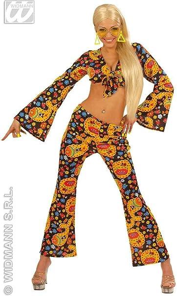 Disfraz de chica Hippie años 70 Adulto Carnaval: Amazon.es: Ropa y ...