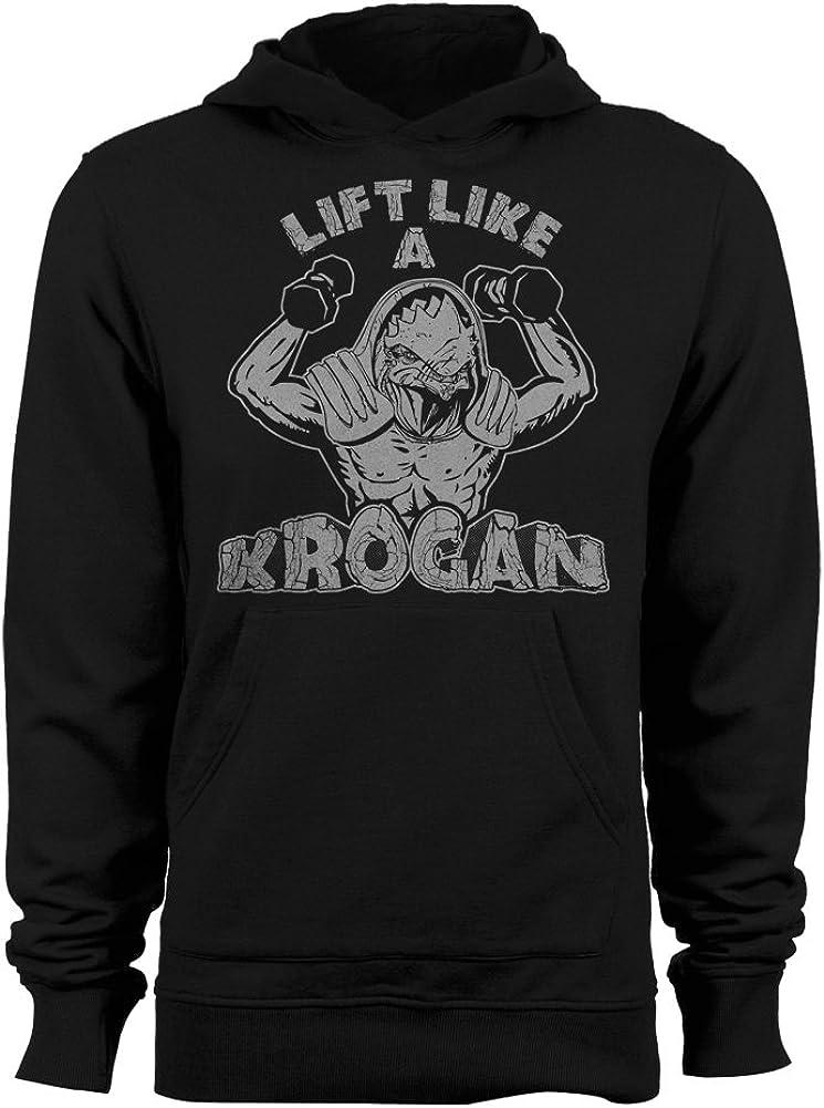 GEEK TEEZ Lift Like a Krogan Women's Hoodie