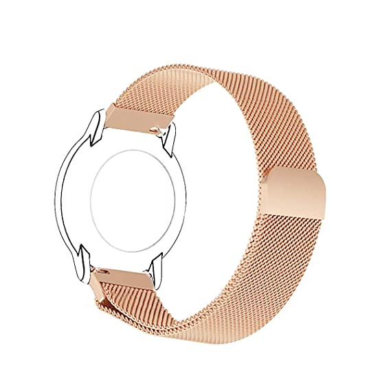 Amazon.com: MIHENCE for Fossil Q Venture HR Bands, Magnetic ...