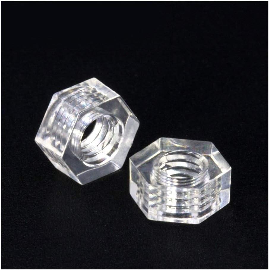 Dimensioni : M5 Nologo Hex Nut Plastic Hex Nut Hex Nut Nut Hex Screw 100pcs