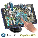 GPS Navigation for Car, Xgody 7 inch 8GB Lifetime Map Update Touch Screen Spoken Turn-to-turn Vehicle GPS Navigator with Sunshade & Car Charger & Back Bracket & Mount, Navigation System for Cars