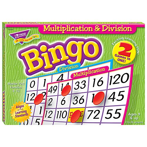 - Multiplication & Division Bingo Game