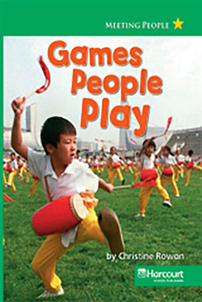Read Online Harcourt Social Studies: Reader 6-pack Above-Level Grade 1 Games People Play pdf