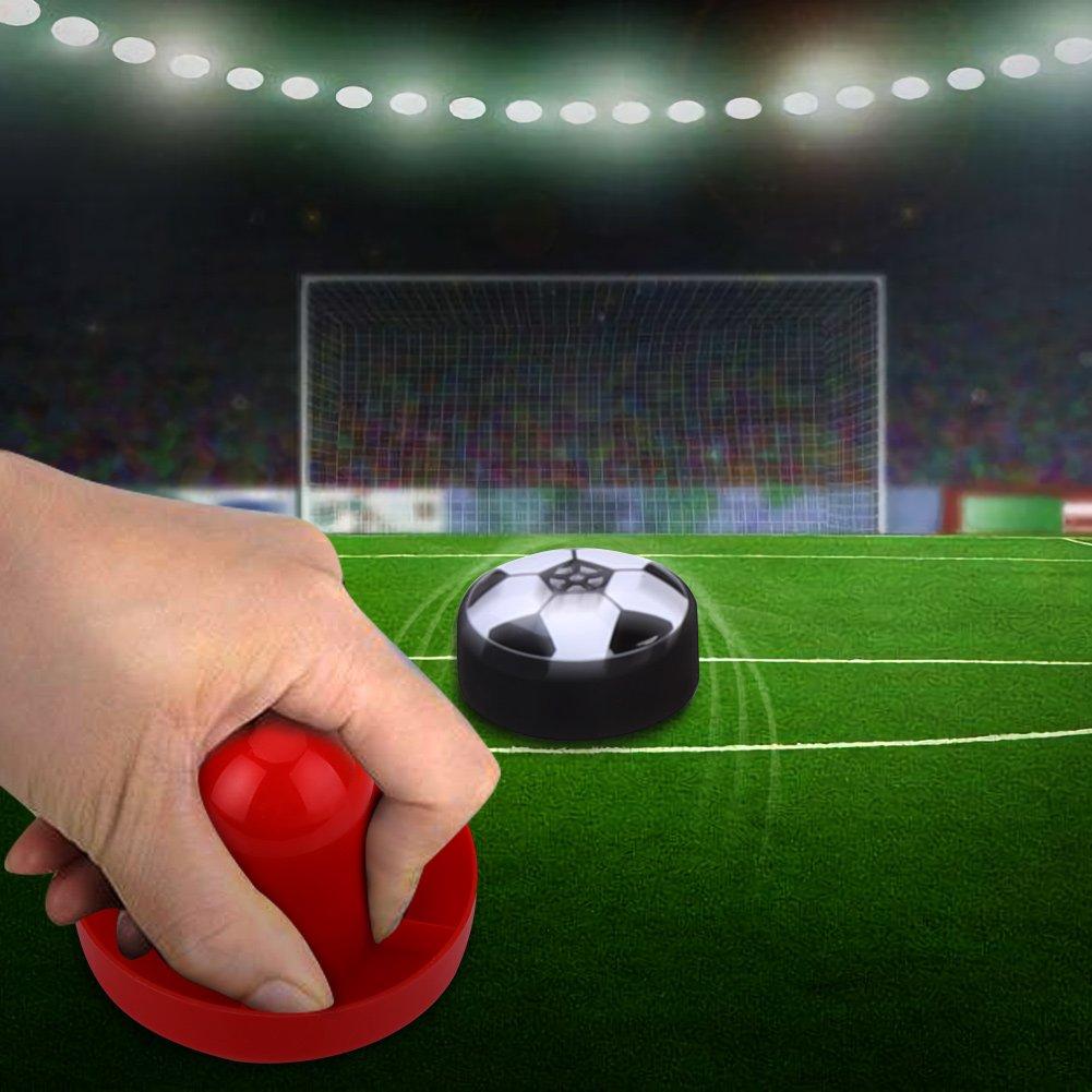 Juego de Mesa de F/útbol Air Power Soccer Football Ball Hover Kit de Juego de Futbol con Kit de Entrenamiento de Juguetes de Deporte de Gole Tbest Juego de Juguetes de Juego de F/útbol para Ni/ños