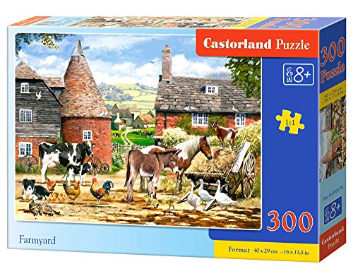 Castorland Farmyard Jigsaw Puzzle (300 (Farmyard Jigsaw)