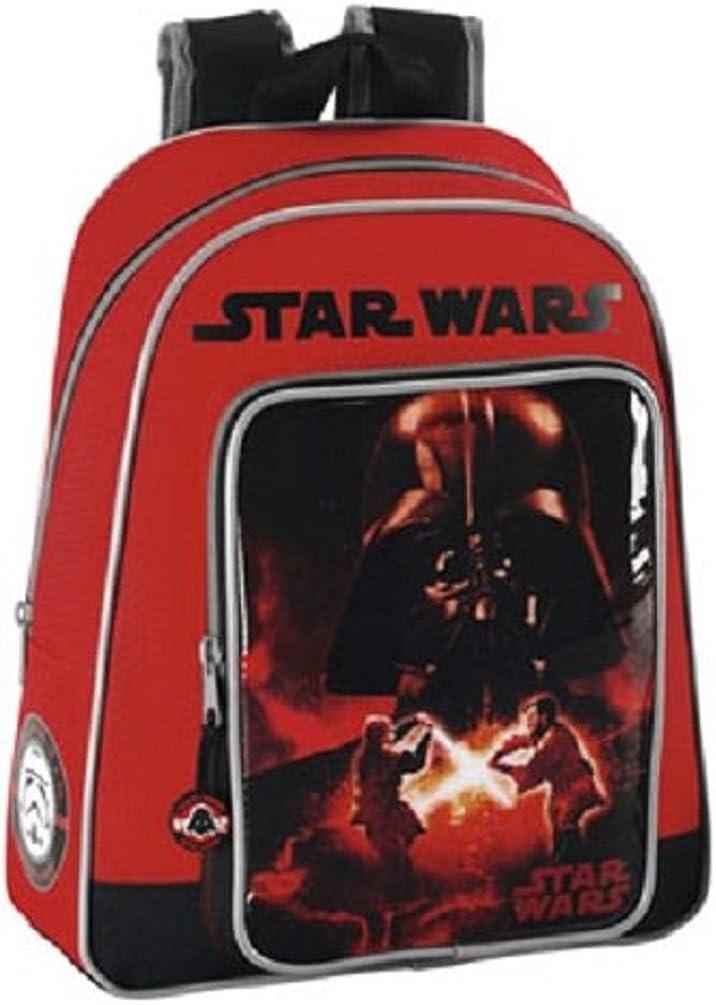 Star Wars Rucksack Schulrucksack Mäppchen Schultertasche Tasche edel Darth Vader