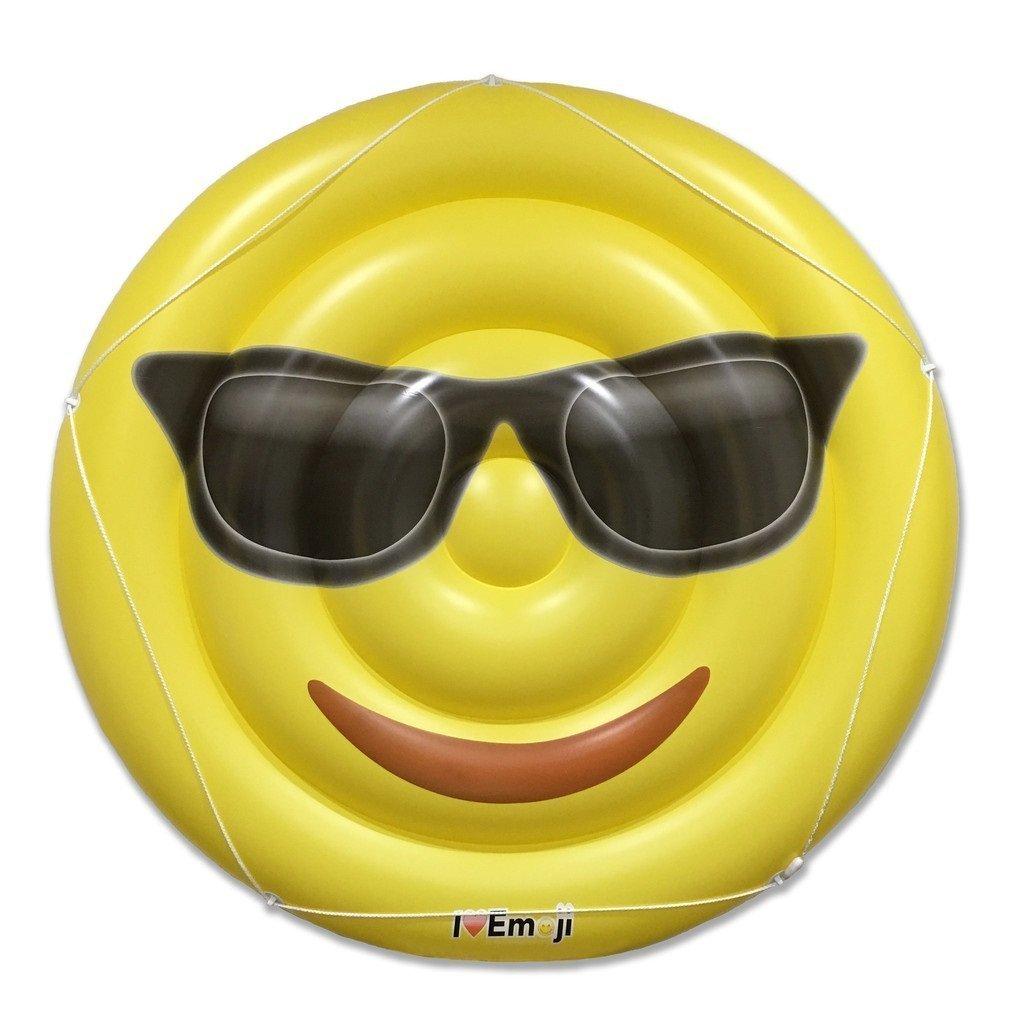 Everything Emoji – Emoji Pool Floats for Adults and Children – Giant Pool Floatie – Emoji Pool Toy