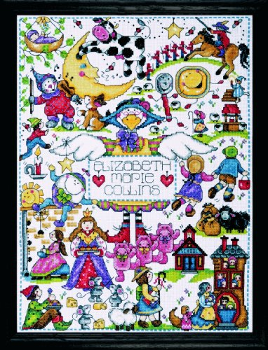 Design Works Crafts Tobin 3028 Nursery Rhymes Counted Cross