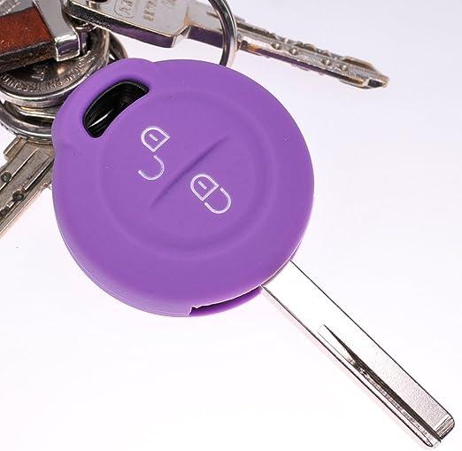 Soft Case Schutz Hülle Auto Schlüssel Lila Für Elektronik