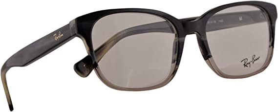 Ray-Ban RB 5340 Gafas 51-18-140 Gris Cuerno Transparente Degradado con Lentes de Muestra 5540 RX RX5340 RB5340: Amazon.es: Ropa y accesorios