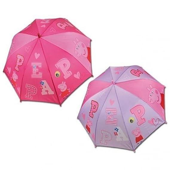 Paraguas automatico Peppa Pig 48cm surtido