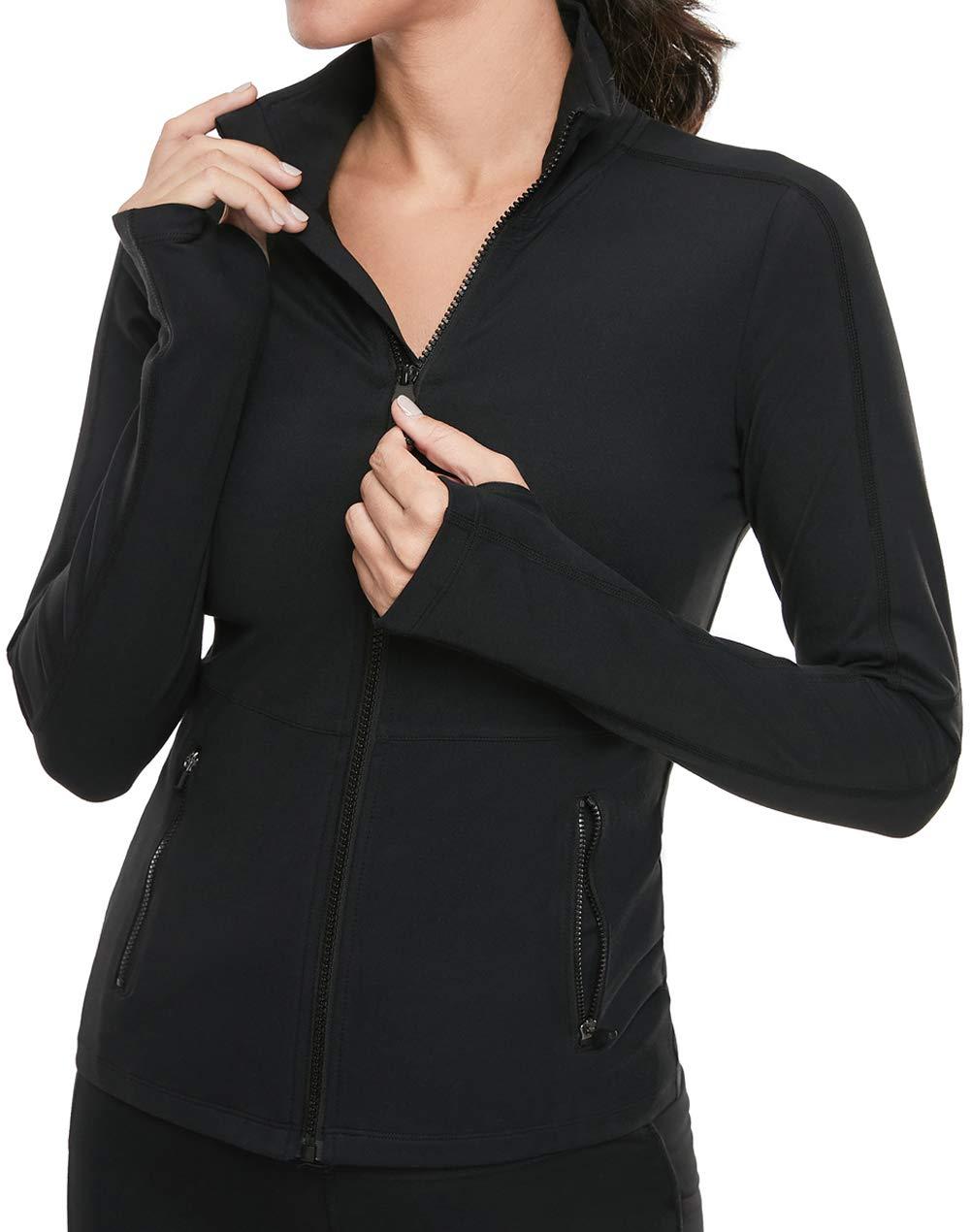 VUTRU Women's Workout Yoga Jacket Full Zip Running Track Jacket by VUTRU