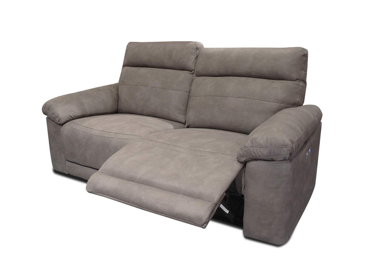 Meubletmoi sofá Relajación Topo Bicolor - motorizado ...