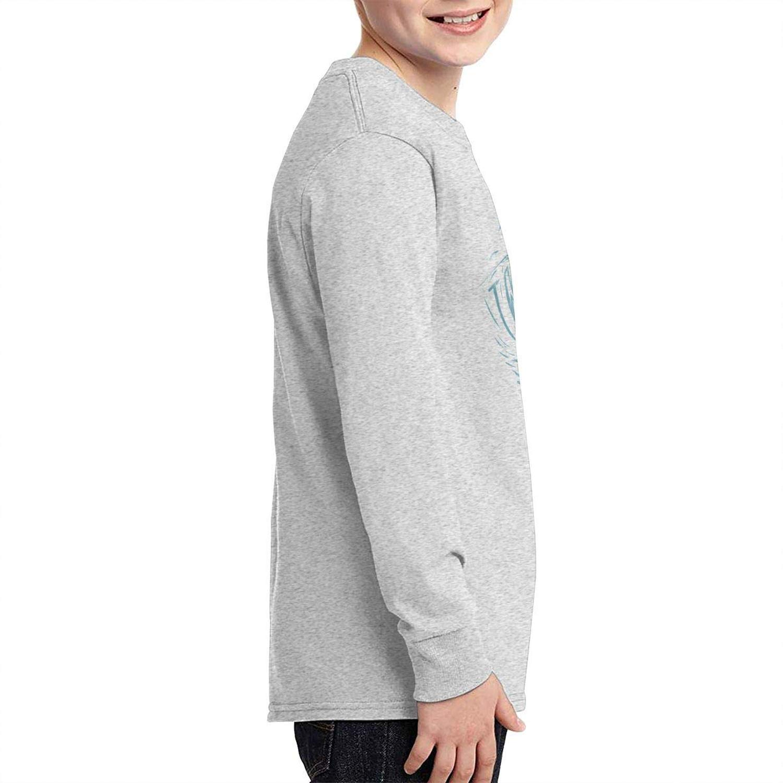 To-night Tame Impala Cotton Youth Girls Boys Long Sleeve T Shirt Funny Juvenile T Shirts Gray