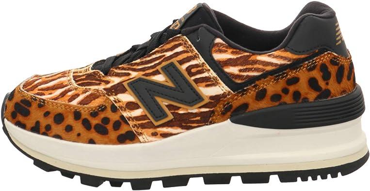 baskets new balance leopard