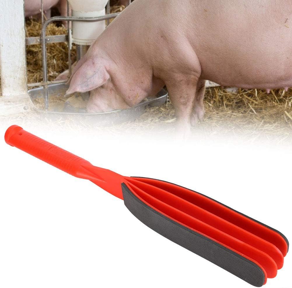 Shift tragbare Kunststoff Beat Move Pig Handle Paddel Schweine klatschen f/ür Schweine Haustiere