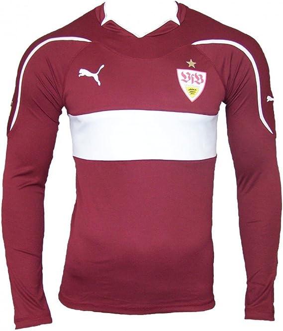 Puma Away - Camiseta de manga larga del VFB Stuttgart (sin publicidad, temporada 2010-2011) Talla:small: Amazon.es: Deportes y aire libre