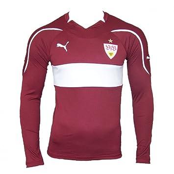 Puma Away - Camiseta de manga larga del VFB Stuttgart (sin publicidad, temporada 2010