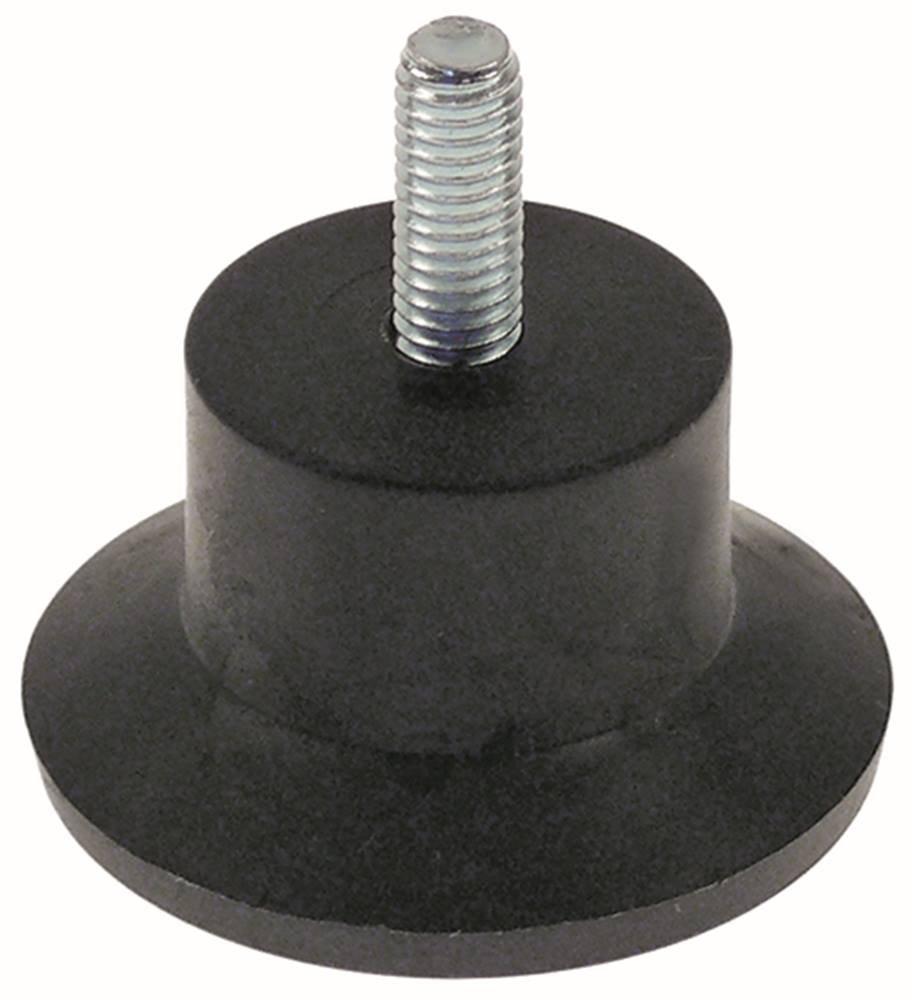 Ger/ätefu/ß D2 /ø 24,5mm /ø 40mm D2 24,5mm M6 Gewindel/änge 15mm H/öhe 38mm