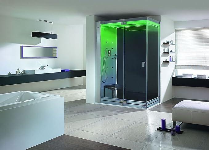 Hoesch sensesation Vapor ducha 155 x 90 baño de vapor con ducha ...