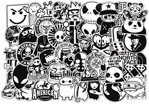 Besroy Aufkleber Decals 100 Stück Dekorative Aufkleber Graffiti Sticker Decals Vinyls Für Laptop Kinder Kühlschrankautos Motorrad Skateboard Gepäck Bumper Sticker Hippie Aufkleber Bomb Wasserdicht Spielzeug