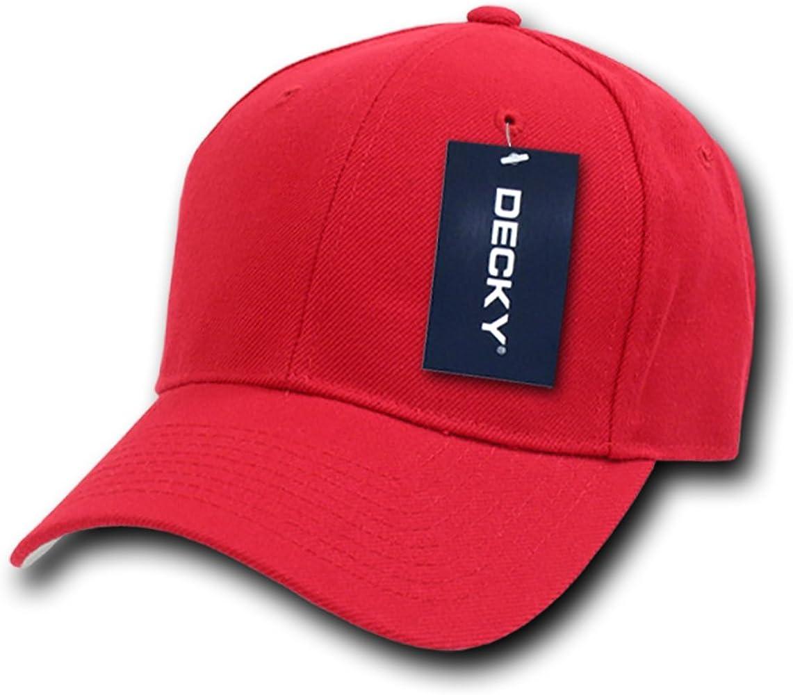 Decky 402-PL-Red-28 - Gorra para Hombre, Talla 7, Color Rojo ...