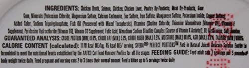 Sheba Perfect Portions Premium Cat Food Pate 4 Flavor 8 Can Variety with Toy Sampler Bundle, 2 Each Salmon, Chicken Tuna, Turkey, Chicken 2.6 Ounces