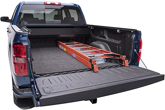 Short Bed 60 Topline Autopart Black Rubber Horizontal Line Truck Bed Floor Mat Liner v2 For 04-12 Chevy Colorado//GMC Canyon 5 Feet
