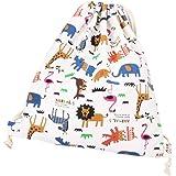 WeiMay - Sacca da palestra, con cordoncino, per viaggi, sport, scuola, zainetto con animali stile cartoon